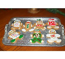 Gingerbread Cookie Extravaganza Photographic Print