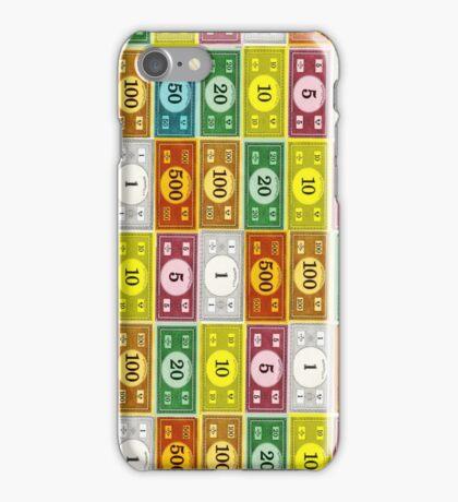 Monopoly Money 3 iPhone Case/Skin