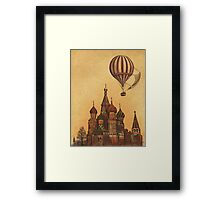 Moving to Moscow  Framed Print