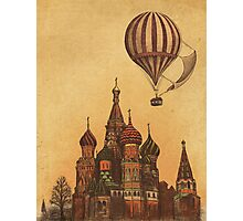 Moving to Moscow  Photographic Print