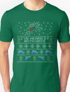 Ugly Sweater, Christmas Sweater I've Heard It Both Ways T-Shirt