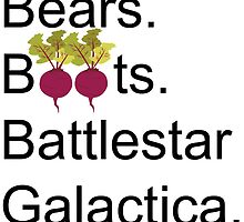 The Office US - Bears. Beets. Battlestar Galactica by ruthykaye