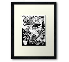 Rescue what is good in me Framed Print