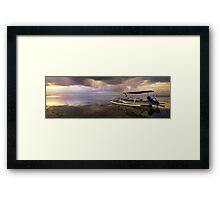 "Sanur Bali - ""Like A Sunrise""  Framed Print"
