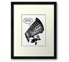 Drunk Dalek Framed Print