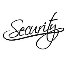 Security Text Logo by Style-O-Mat