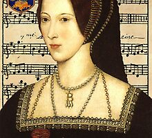 Anne Boleyn, Queen of England by Pixelchicken
