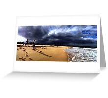 Chasing Storm Greeting Card
