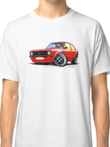 Ford Escort (Mk2) Mexico Red Classic T-Shirt