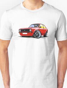 Ford Escort (Mk2) Mexico Red T-Shirt