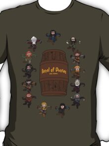 Bilbo's Barrel of Dwarves T-Shirt