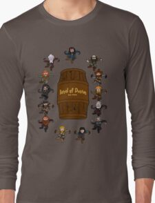 Bilbo's Barrel of Dwarves Long Sleeve T-Shirt