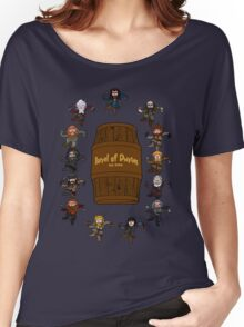 Bilbo's Barrel of Dwarves Women's Relaxed Fit T-Shirt