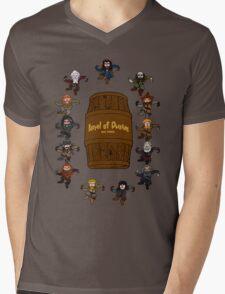 Bilbo's Barrel of Dwarves Mens V-Neck T-Shirt
