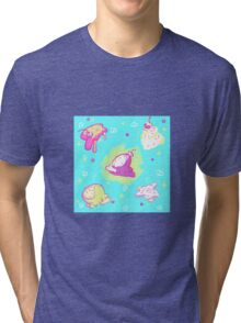 Icecream and Sprinkles Tri-blend T-Shirt