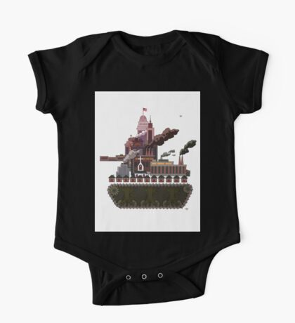 Military-Industrial Complex One Piece - Short Sleeve