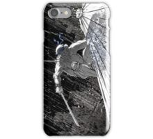 Ninja Turtle Leonardo in the Rain iPhone Case/Skin