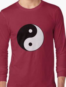 yin-yang symbol Long Sleeve T-Shirt