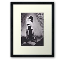 Bettie Page Framed Print