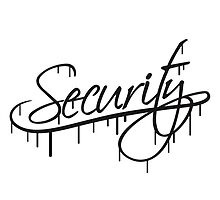 Security Graffiti Logo by Style-O-Mat