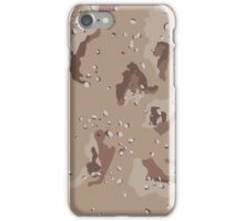 Camouflage - Desert iPhone Case/Skin