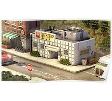 Onett - Burger Shop Poster