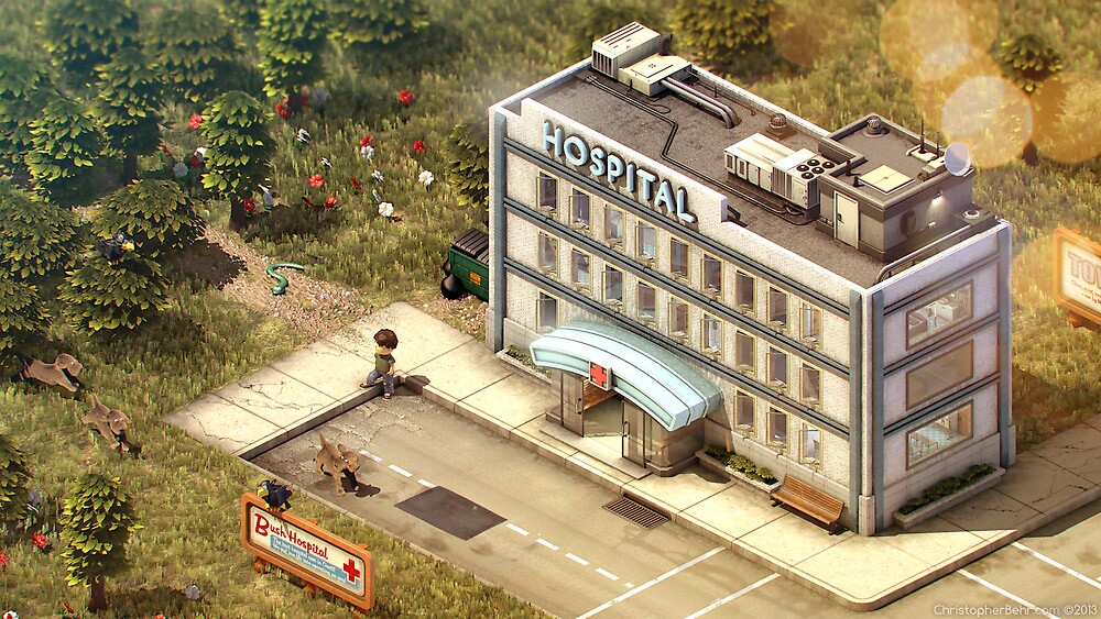 Onett - Hospital by Christopher Behr