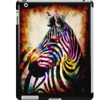 Zebra in Color by Mark Compton iPad Case/Skin