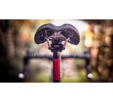 Bicycle saddle Photographic Print