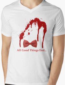 All Good Things End Mens V-Neck T-Shirt