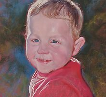 Portrait of Finn by Lynda Robinson