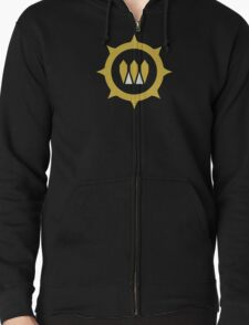 The Queens Emblem Zipped Hoodie