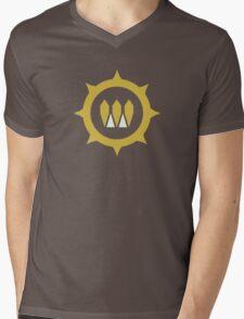 The Queens Emblem Mens V-Neck T-Shirt