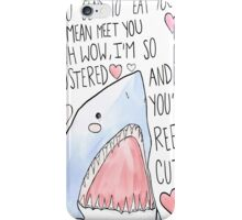 """You're Reel-y Cute"" 2013 Shark Week Phone Case iPhone Case/Skin"