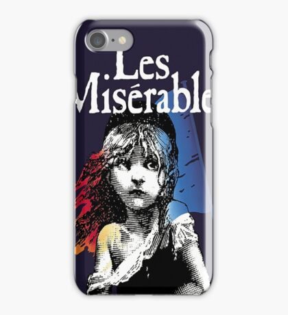 Les Miserables iPhone Case/Skin