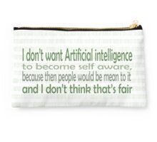 Be nice to A.I. Studio Pouch