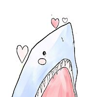 """You're Reel-y Cute"" 2013 Shark Week Phone Case Sans Text by petitehero"