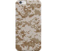 Camouflage - Desert Digital iPhone Case/Skin