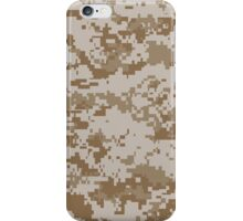 Camouflage - Desert Digital iPhone Case/Skin