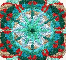 Inner Peace Mandala Sign Sticker