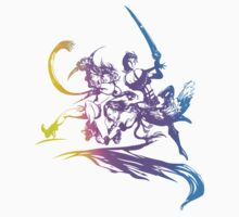 Final Fantasy X-2 Revamped Logo by Jack-O-Lantern