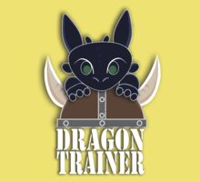 Dragon Trainer Tee (With Text) Kids Tee