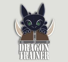 Dragon Trainer Tee (With Text) by thisisbrooke