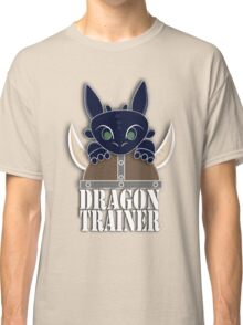 Dragon Trainer Tee (With Text) Classic T-Shirt