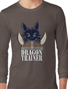 Dragon Trainer Tee (With Text) Long Sleeve T-Shirt