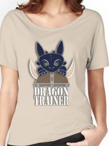 Dragon Trainer Tee (With Text) Women's Relaxed Fit T-Shirt