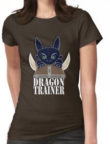Dragon Trainer Tee (With Text) Womens Fitted T-Shirt