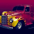 Flaming 47 International Panel Truck is a Hauler by ChasSinklier