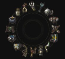Twilight Princess Items by Jack-O-Lantern