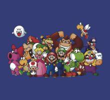 Mario Crew by Jack-O-Lantern